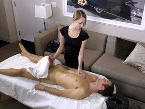 Une Ado chez le masseur noir